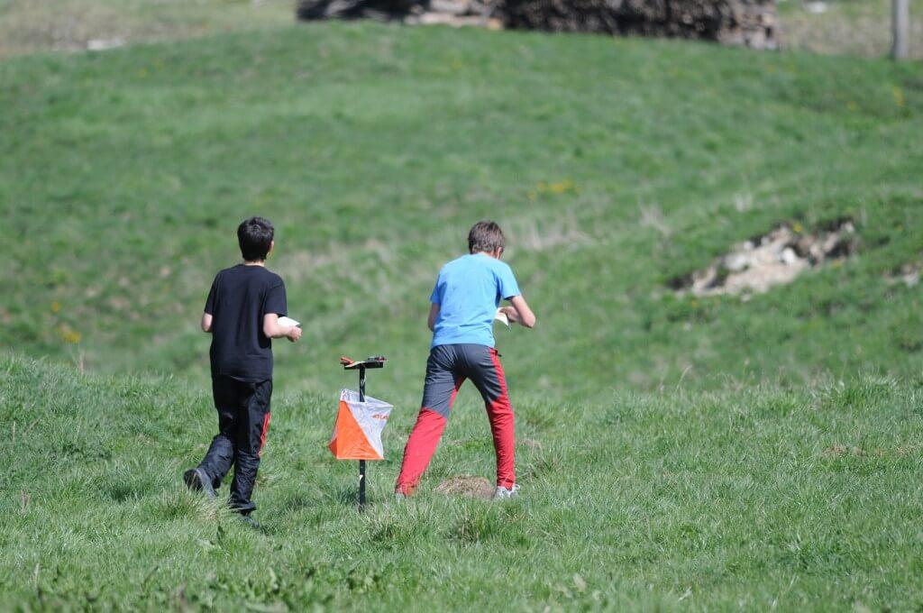 Praticanti di orienteering